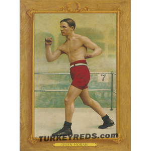 Owen Moran - boxer - Turkey Reds Cabinet Card