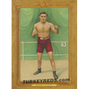 Johnny Marto - boxer - Turkey Reds Cabinet Card