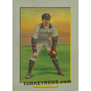 Tommy Leach – Pittsburgh Pirates Turkey Reds Cabinet Card