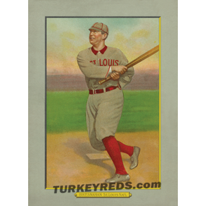 Roger Bresnahan of the St. Louis Cardinals, Turkey Reds Cabinet Card scan