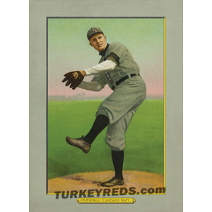 Orval Overall - Chicago Nat'l Turkey Reds Cabinet Card file
