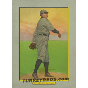 Cy Young - Cleveland Turkey Reds Cabinet Card file