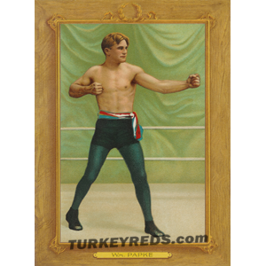William Papke - Turkey Reds Cabinet Card
