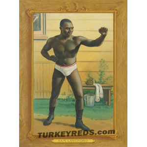 Sam Langford - Turkey Reds Cabinet Card file