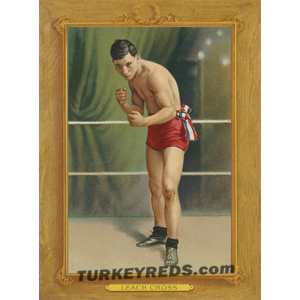Leach Cross Turkey Reds Cabinet Card file