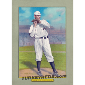 Chief Bender - Turkey Reds Cabinet Card file