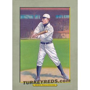 George Browne - Turkey Reds Cabinet Card file