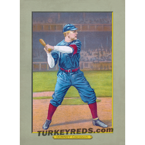 Tom Downey - Turkey Reds Cabinet Card file
