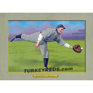 Boss Schmidt - Turkey Reds Cabinet Card file