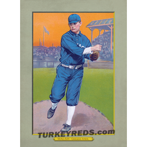 Ed Walsh - Turkey Reds Cabinet Card file