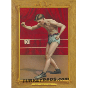 Battling Nelson - Turkey Reds Cabinet Card file